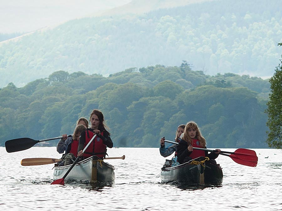 Lake District Activities - Canoeing
