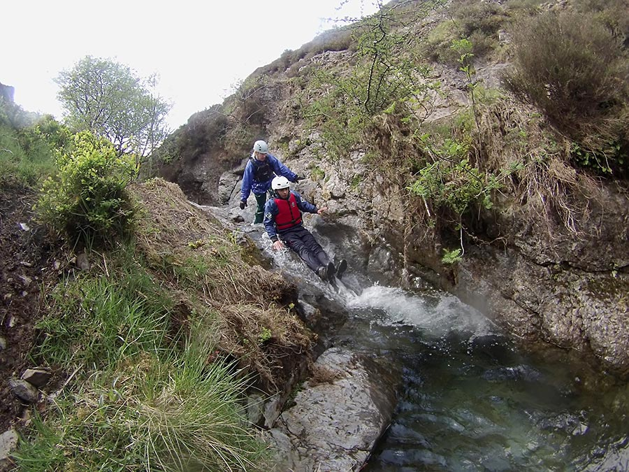 Lake District Activities - Ghyll Scrambling