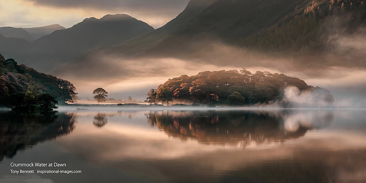 Crummock Water at Dawn - Tony Bennett